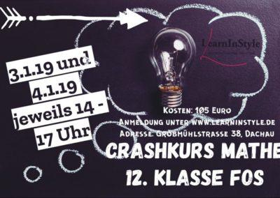 Crashkurs Mathe 12. Klasse FOS