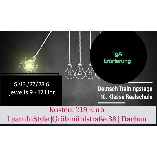 Abschlussprüfung Deutsch Trainingstage