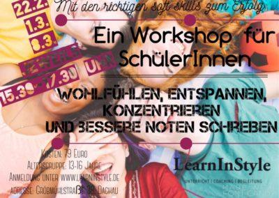 Bessere Noten schreiben – Workshop für SchülerInnen